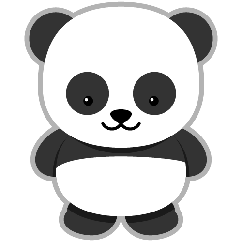 Free To Use Amp Public Domain Giant Panda Clip Art: clipartion.com/free-clipart-64
