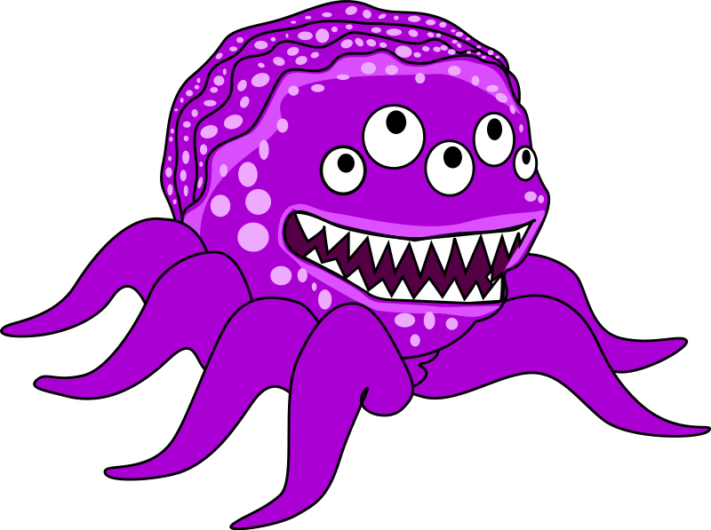 Free To Use Amp Public Domain Monsters Clip Art Page 7
