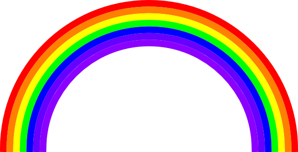 Free To Use Amp Public Domain Rainbow Clip Art
