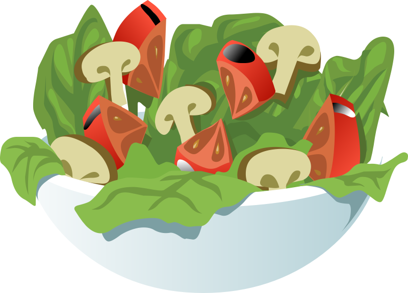 Free To Use Amp Public Domain Salad Clip Art