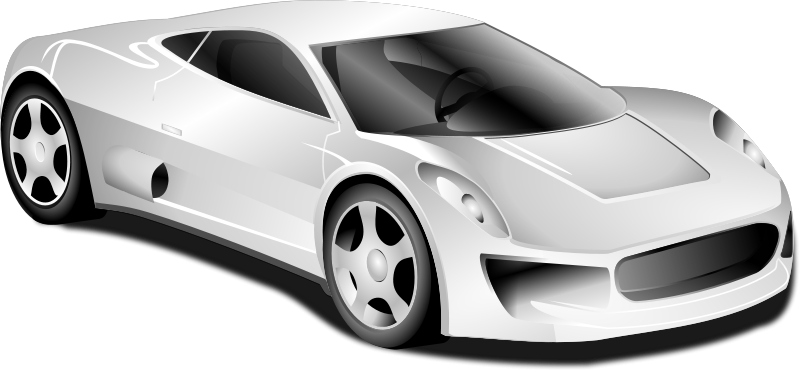 Free To Use Amp Public Domain Sports Car Clip Art Page