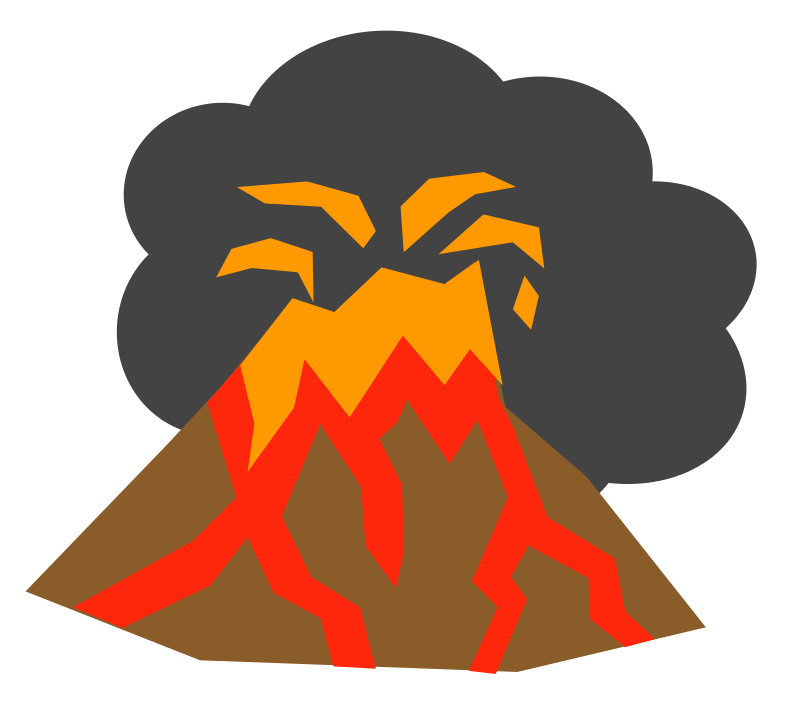 Free To Use Amp Public Domain Volcano Clip Art