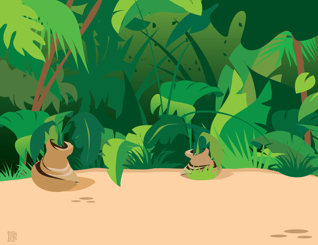 Freevector Jungle Plants