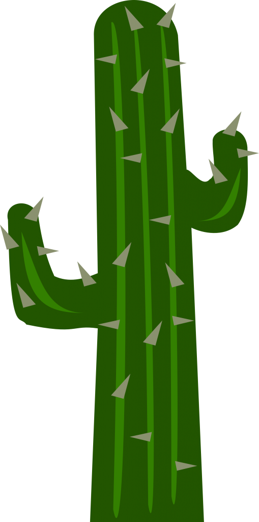 Frowning Cartoon Cactus Clipart Free Clip Art Images