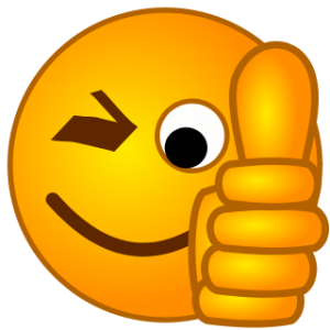 Funny Smiley Faces Thumbs Up