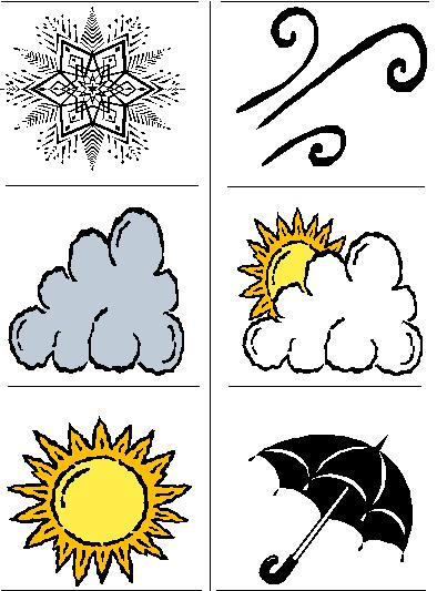 Funny Weather Clipart