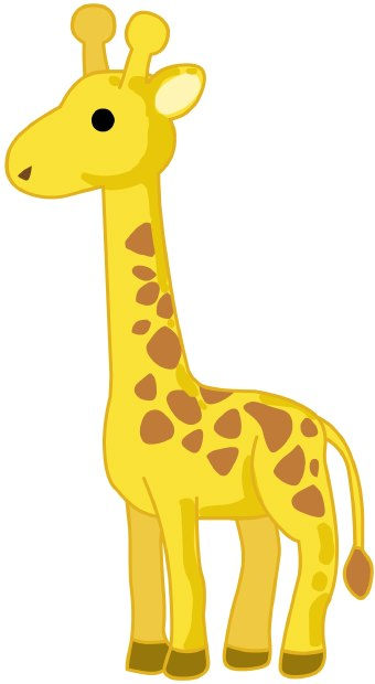Giraffe Clipart Black And White Free Clipart Images