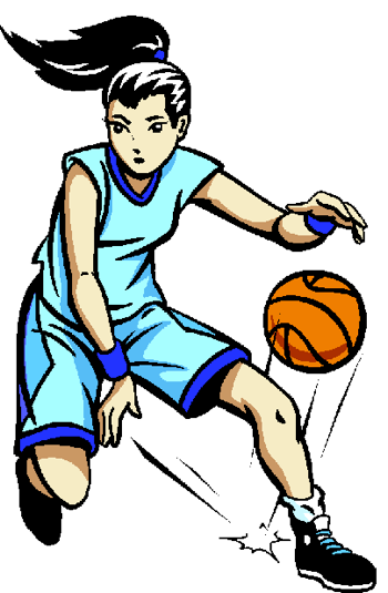 Girl Basketball Player Clipart Free Clipart Images