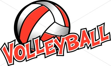 Girls Volleyball Clip Art Free Clipart Images