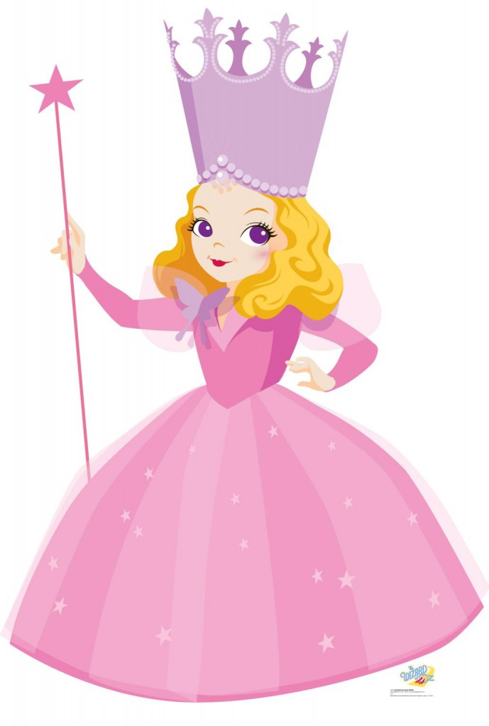 Glinda The Good Witch Kids Wizard Of Oz Clipart Free Clip Art Images