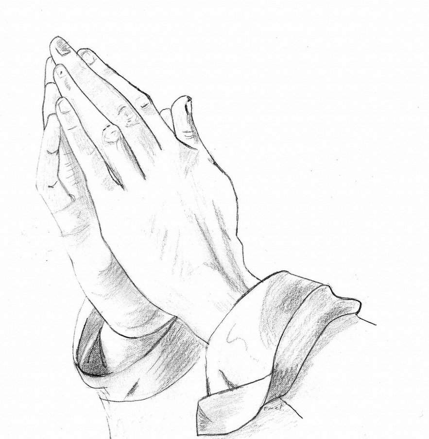 Gods Praying Hands Drawings Clipart Free Clip Art Images