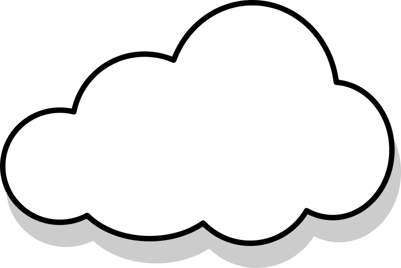 Gray Cloud Clipart Free Clipart Images