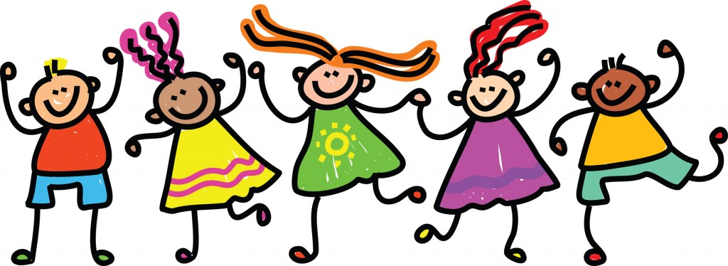 Group Of Kids Clipart Happy Kids Clipart Burr Pto