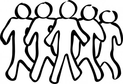 Group Volunteer Opportunities Resource Clipart