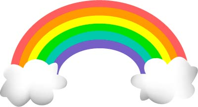 Half Rainbow Clipart Free Clipart Images