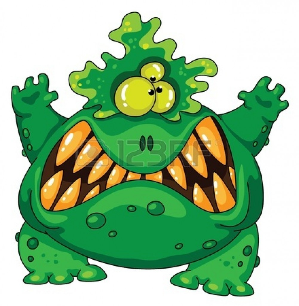 Halloween Monster Clipart
