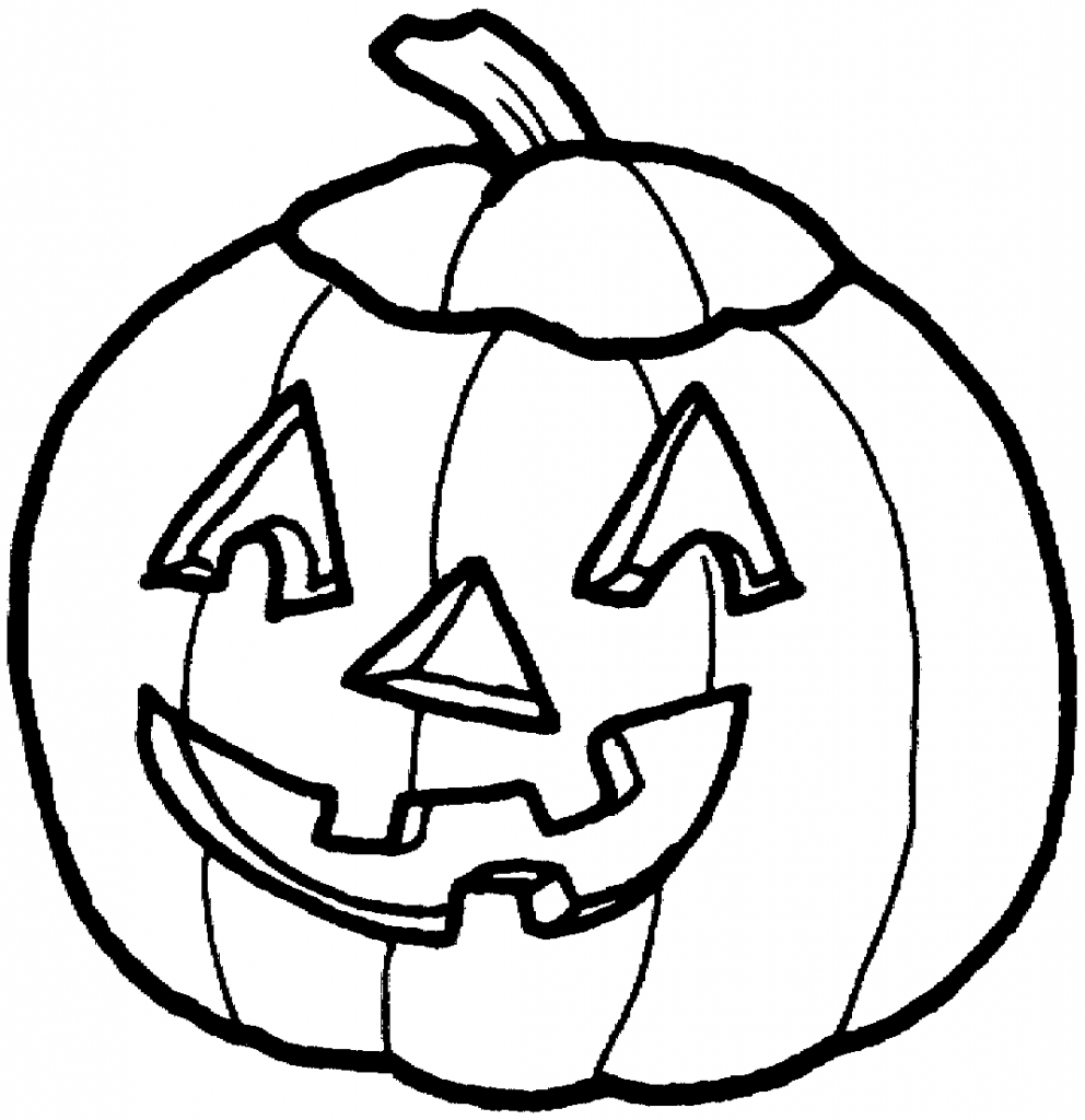 best pumpkin clipart black and white 1594