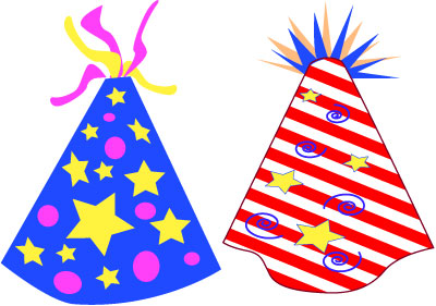 Happy 3rd Birthday Hat Clipart