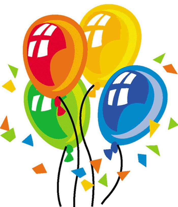 Happy Birthday Balloon Clipart