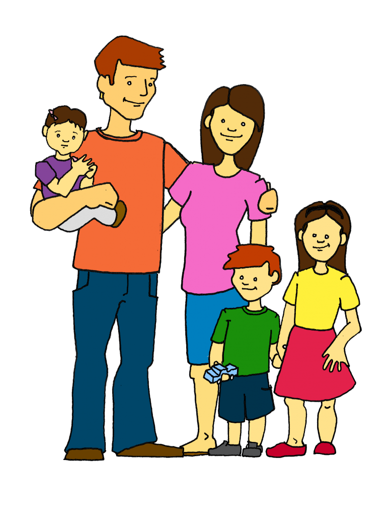 Happy Family Clipart Free Clipart Images