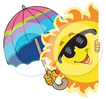 Happy Summer Clip Art Icon Free Icons