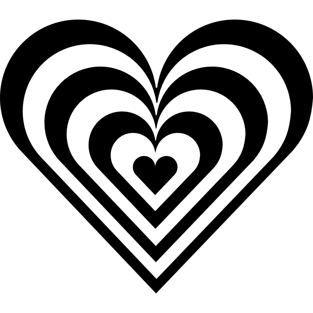 Heart Clip Art Black And White Free Clipart Images