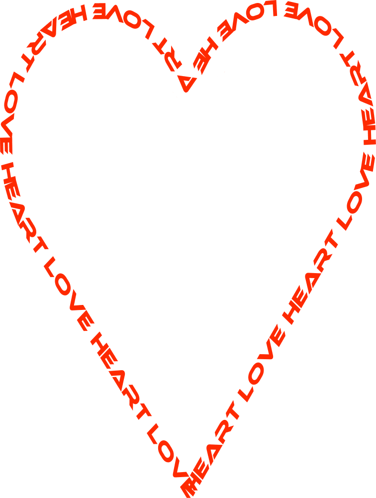 Heart Love Outline Page Page Frames