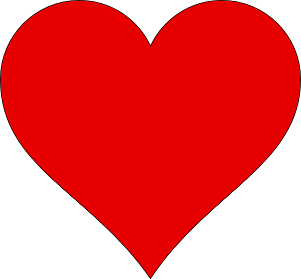 Heart Outline Clipart