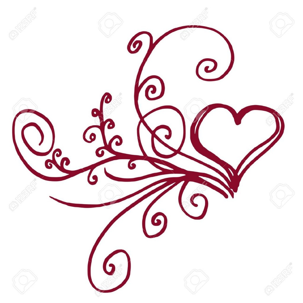 Heart Outline Stock Illustrations Cliparts And Royalty Free Heart