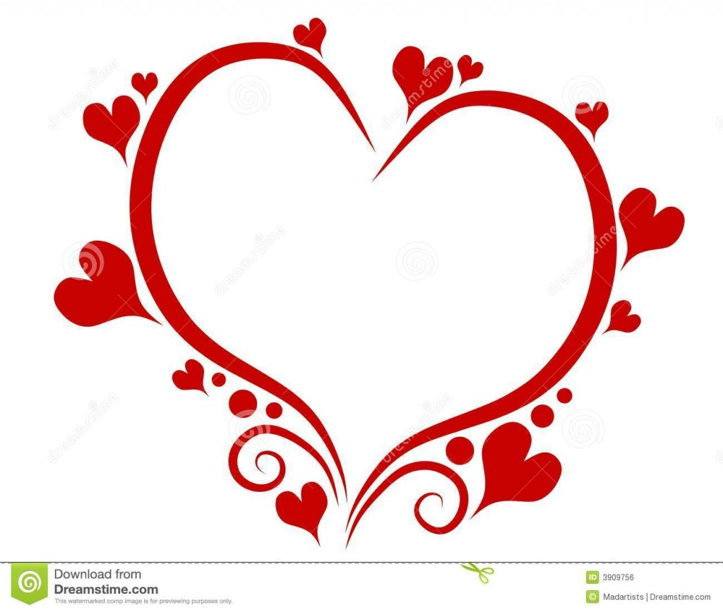 Heart Outline Stock Photos Images Amp Pictures 8 Images