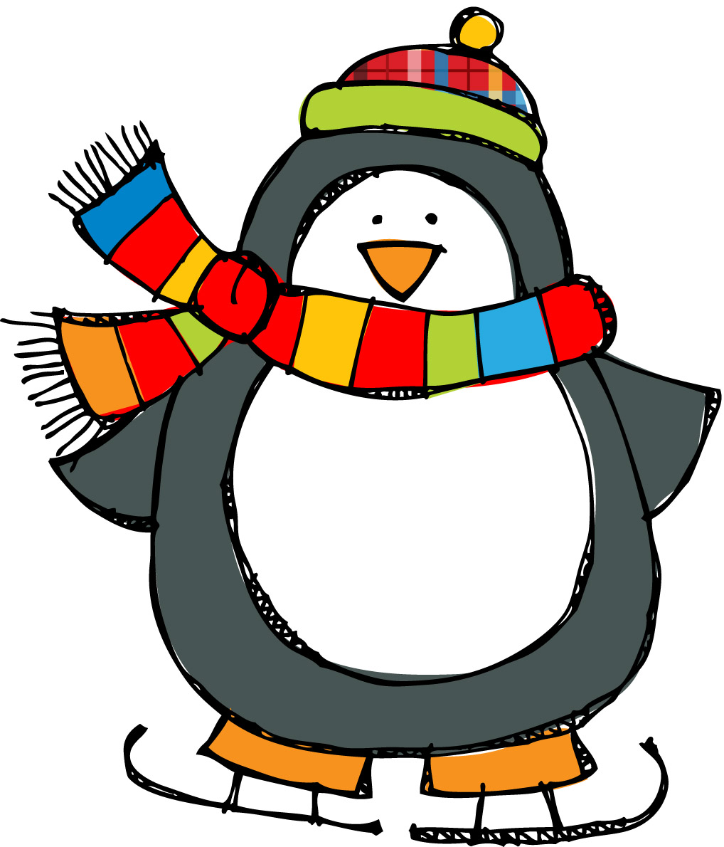 Holiday Penguin Clipart Free Clipart Images