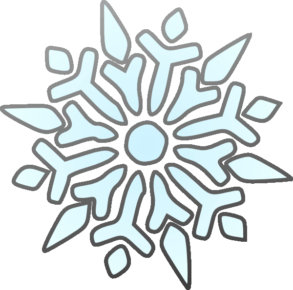 Holiday Snowflake Clipart