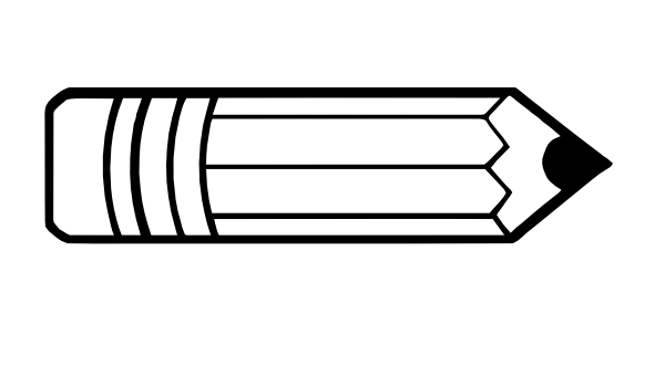 Horizontal Pencil Clipart Free Clipart Images