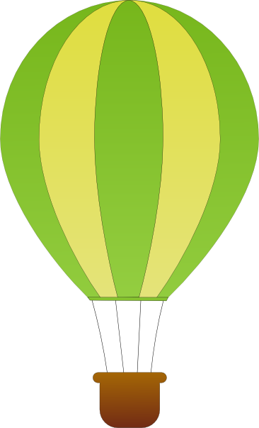 Hot Air Balloon Basket Clipart Free Clipart