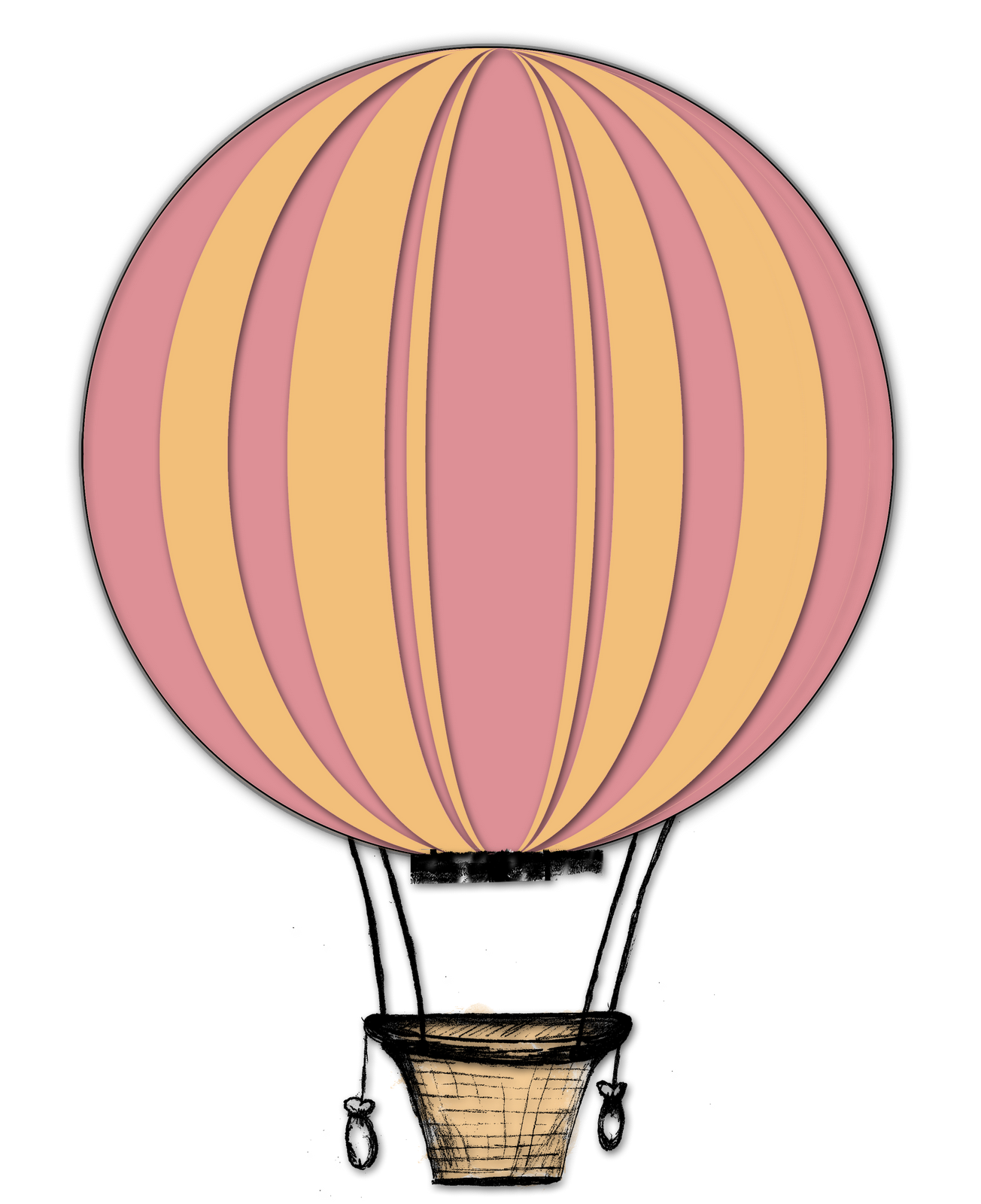 Hot Air Balloon Clipart Png Images