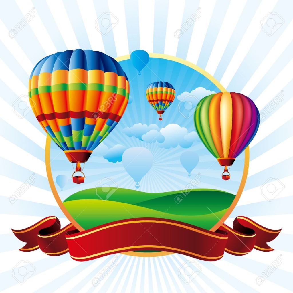 Hot Air Balloon Cliparts Stock Vector And Royalty Free Hot Air
