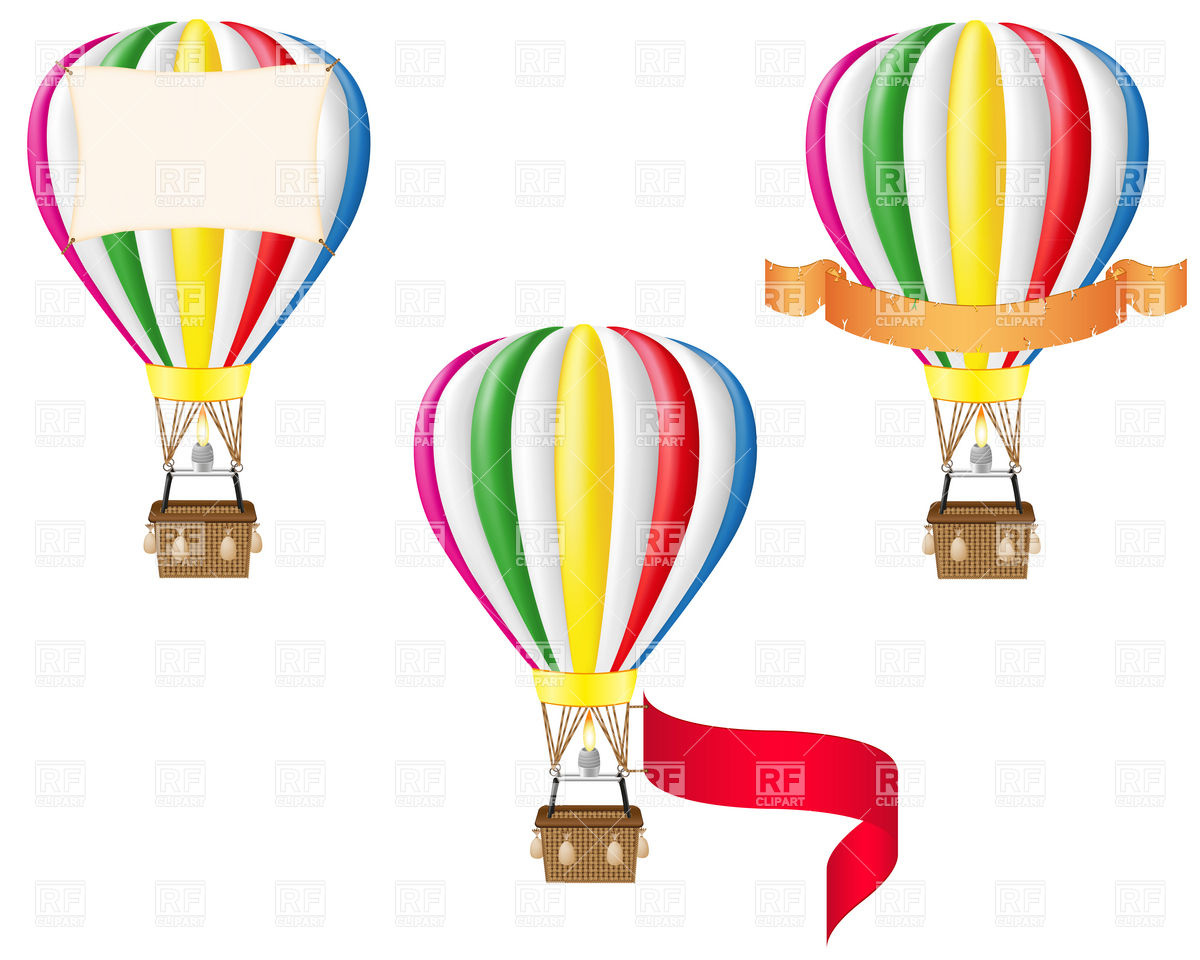 Hot Air Balloon Empty Basket Free Clipart Images