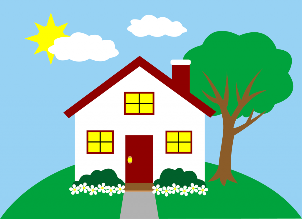 House 3 4 Clipart Free Clip Art Images