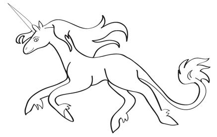 How To Draw A Unicorn Learn To Draw A Unicorn