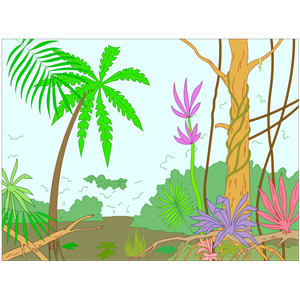 Jungle Clipart Cliparts Of Jungle Free Download Wmf Eps Emf