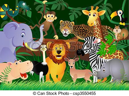 Jungle Illustrations And Stock Art Jungle Illustration And