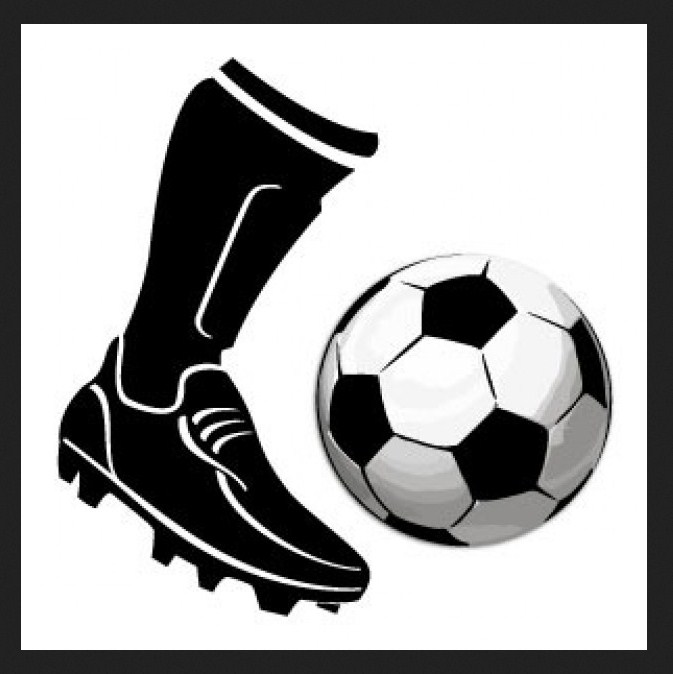 Kicking A Soccer Ball Clipart Pictures Geek Sites