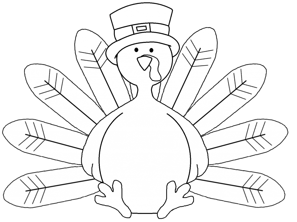 Best Turkey Clipart Black And White