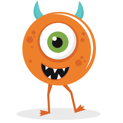 Large One Eyed Monster Png
