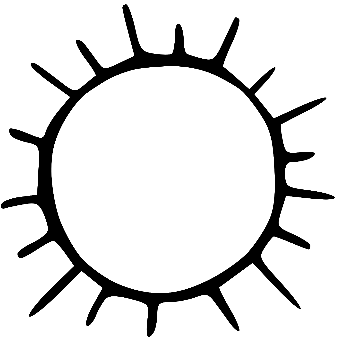 Sun Clipart Black And White Images & Pictures - Becuo