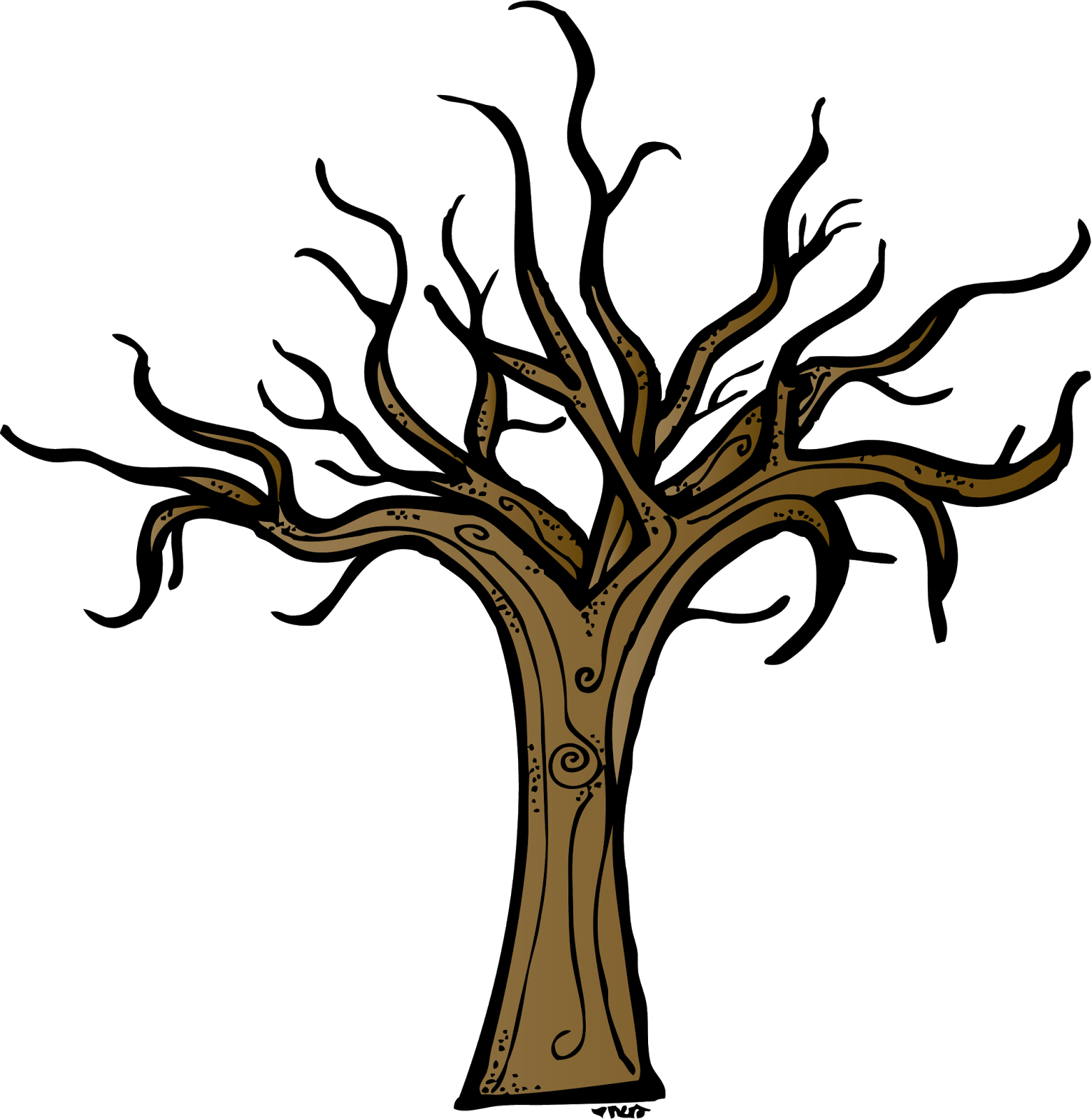 bare apple tree clipart. bare tree clip art #5157 apple clipart l