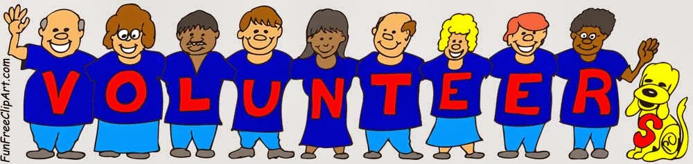 Line Of Volunteers Working Together To Help Fun Free Clipart