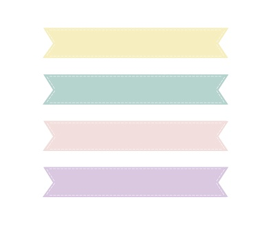 Loveration Freebies Cute Pastel Banner Clip Art Crafting