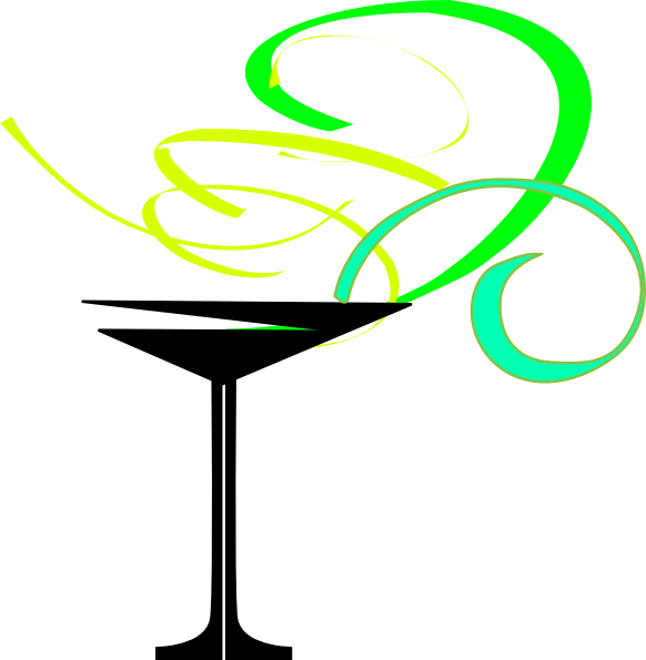 Lt Green Apple Martini Clip Art At Vector Clip Art