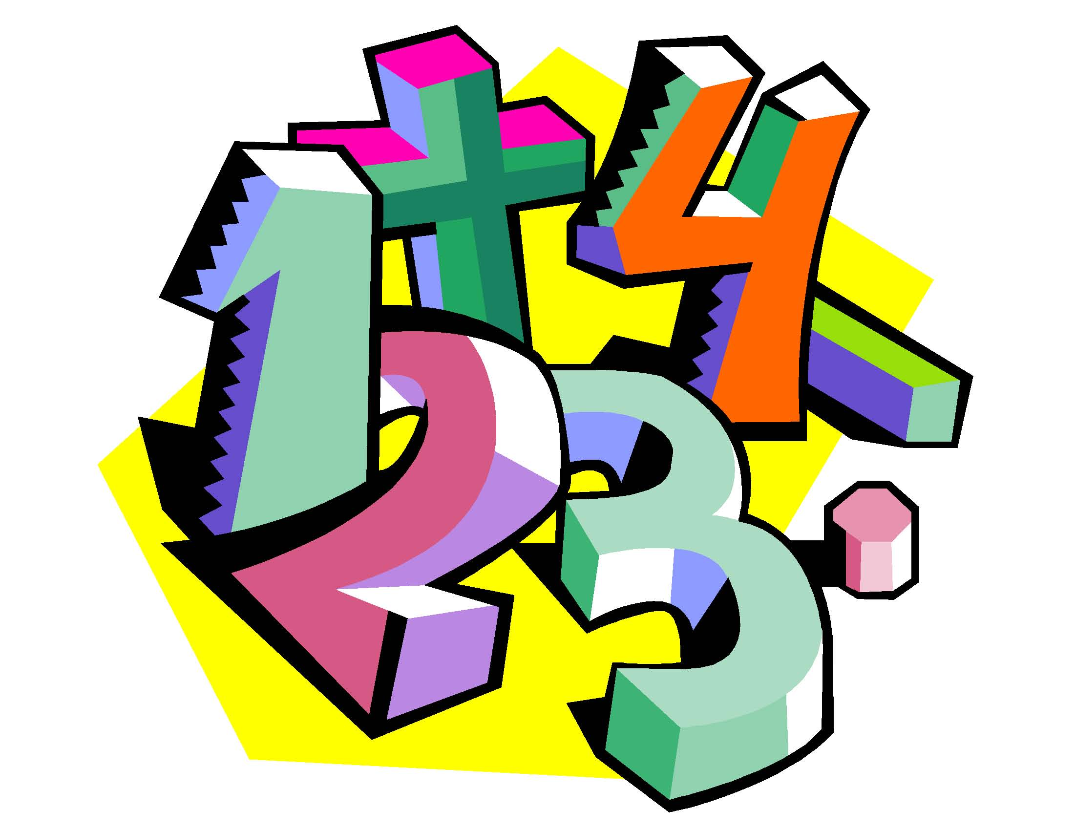 Math Clipart Transparent
